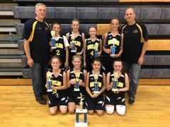 6th Grade Girls Win December Slam Jam (12/2/17)
