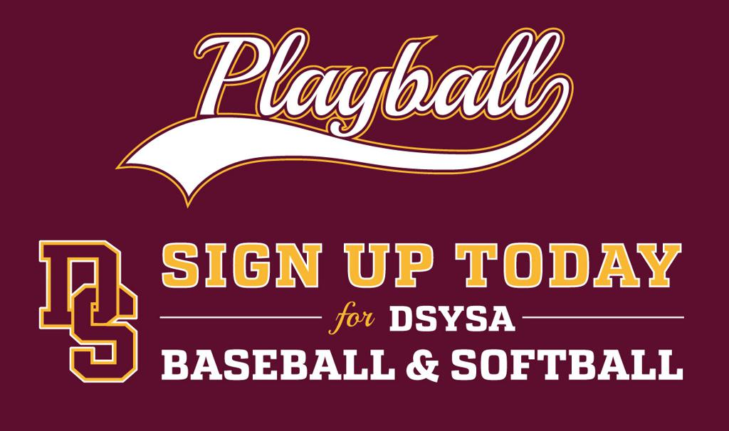 Sign Up for DSYSA Baseball & Softball