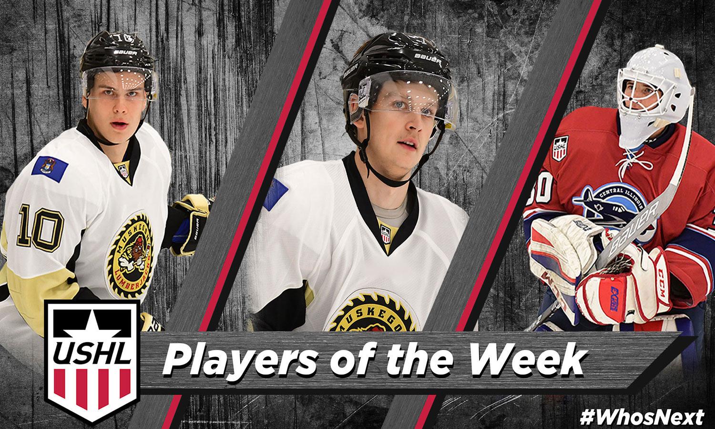 USHL: Players Of The Week - Week 9, 2018-19