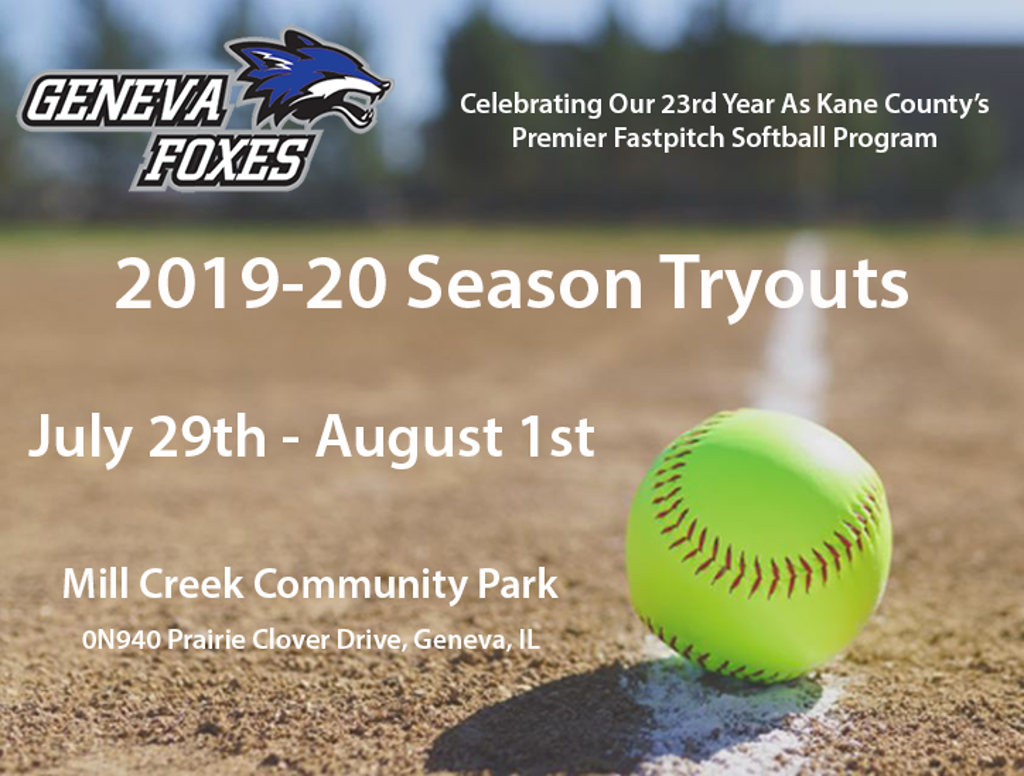 2019-20 Tryout Registration | 2020 Geneva Foxes Try-Out