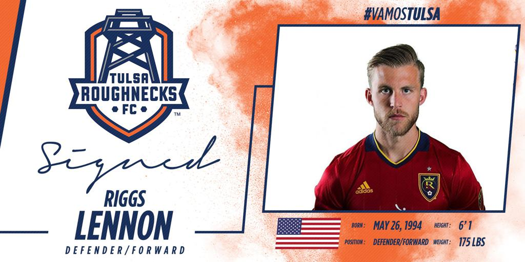The Roughnecks have signed versatile Forward/Defender Riggs Lennon to a contract for the 2018 season.
