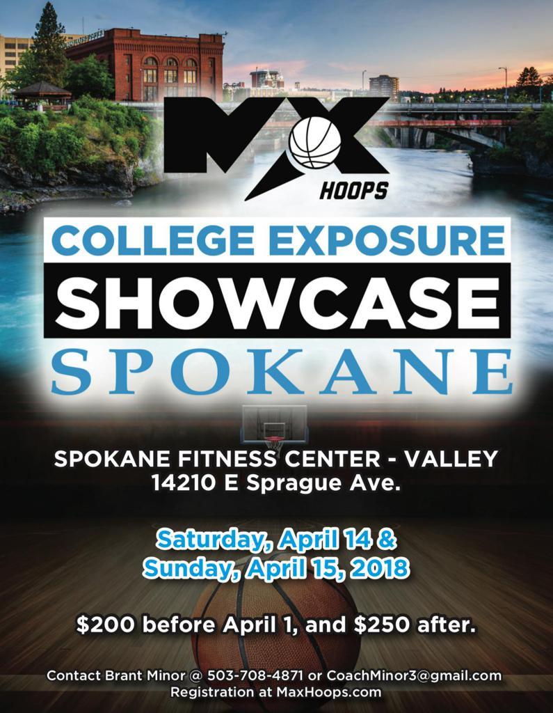 College Exposure Showcase Spokane Basketball