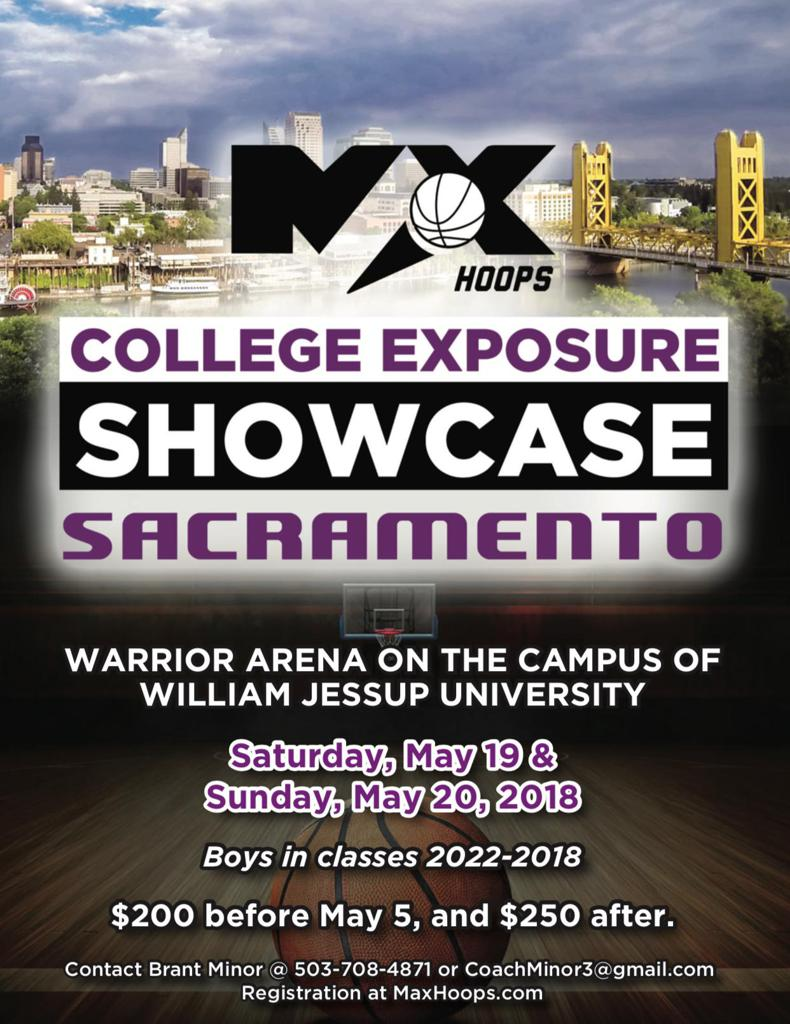 College Exposure Showcase Seattle Sacramento