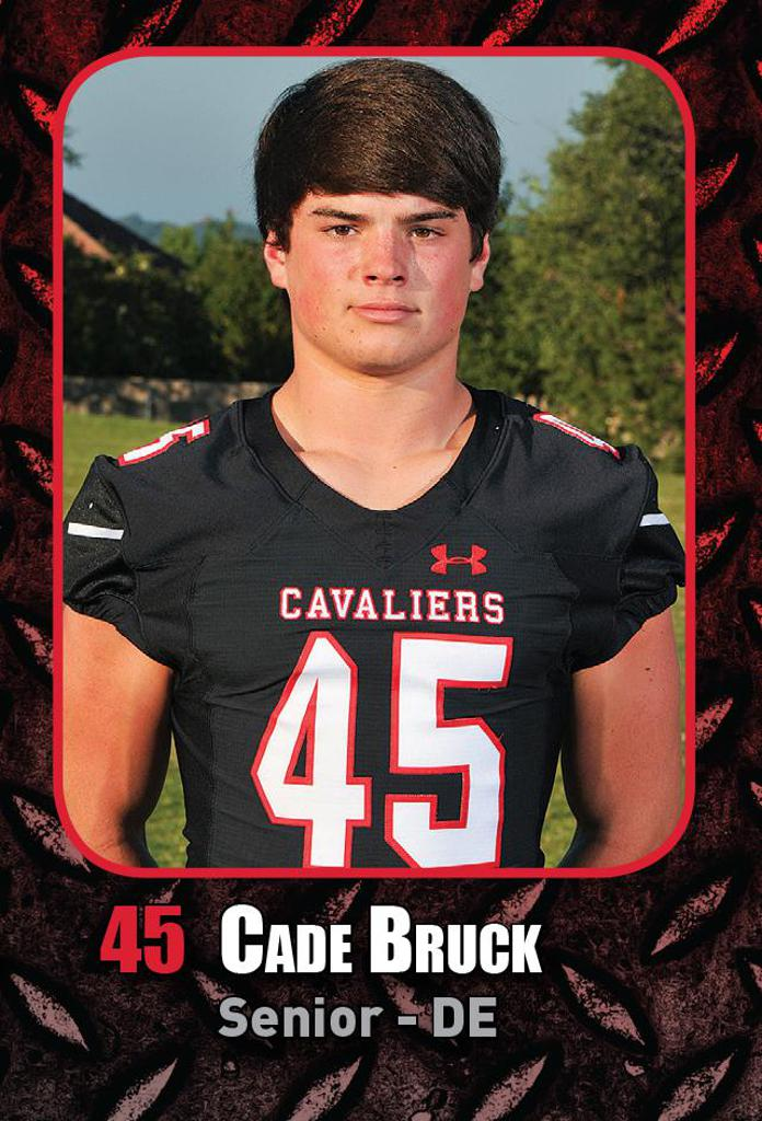 Semi-Final Playoff Game vs Katy HS -Special Teams Player of the Week Cade Bruck