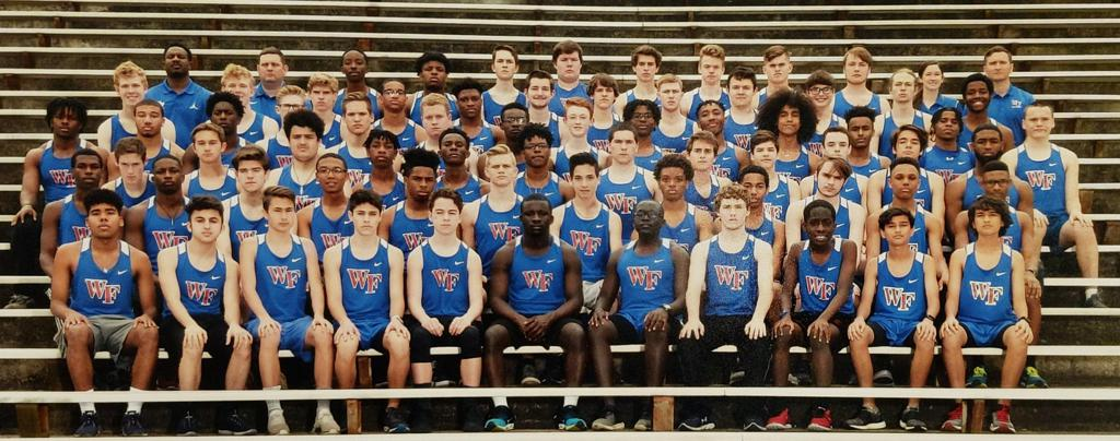 Photo of the 2019 Boys Track Team