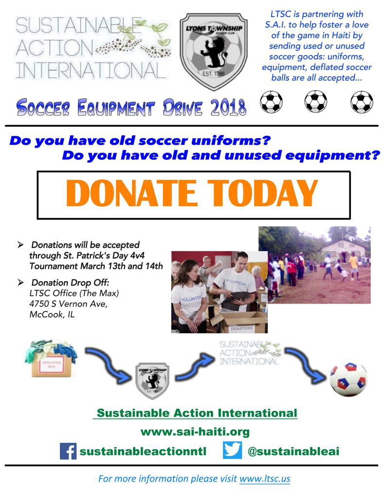 LTSC UNIFORM COLLECTION DRIVE for HAITI