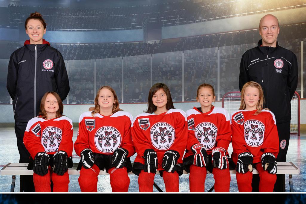 8U Red WWFHL Team, 2017-2018