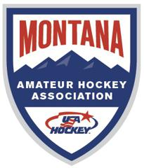 Montana Amateur Hockey Association Logo