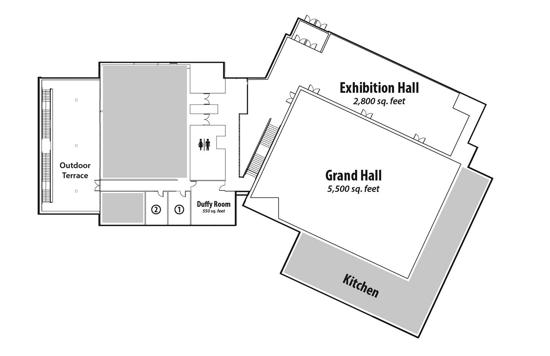 Schwan Center Floor Plan