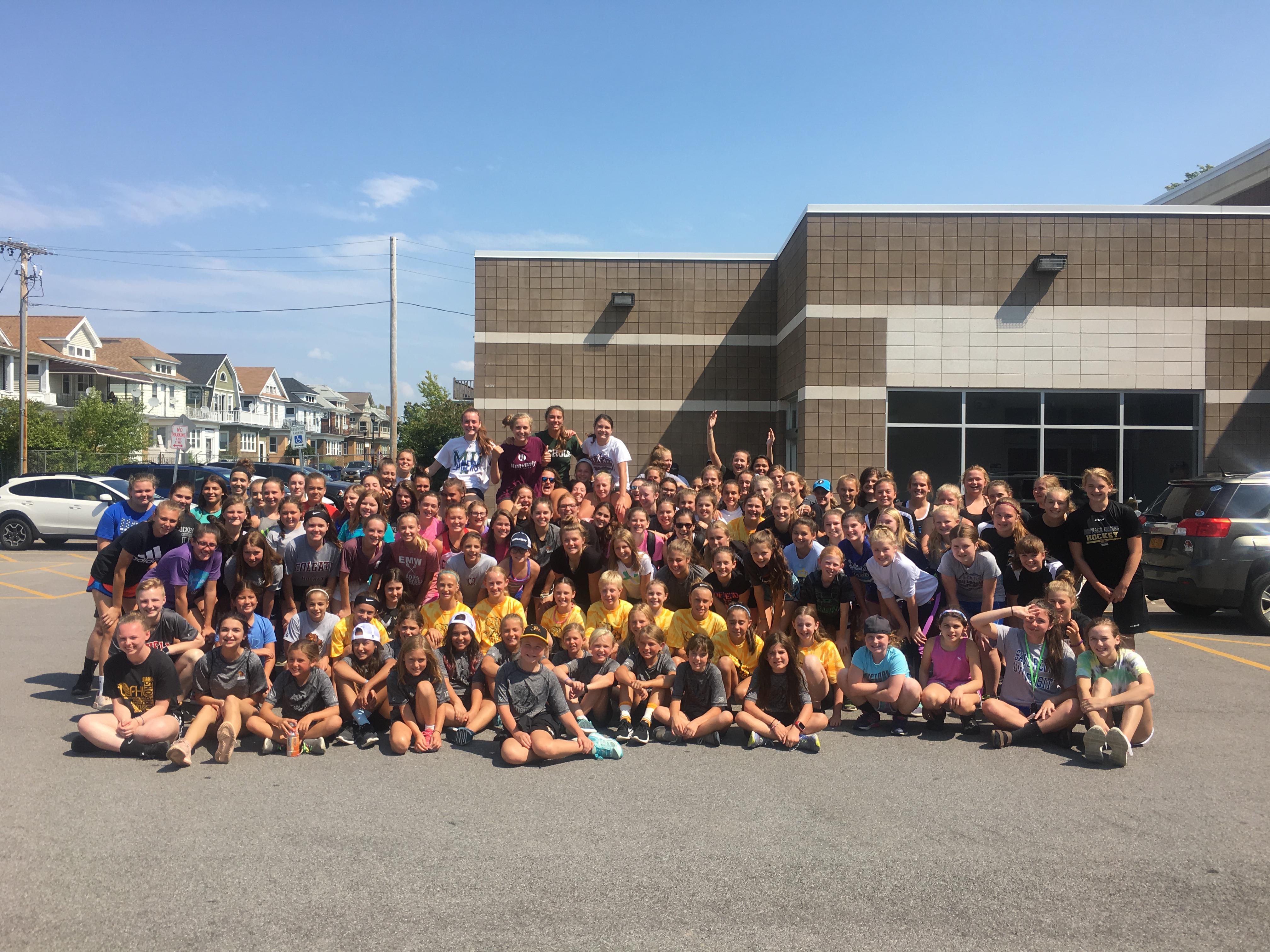Bison Hockey Girls Mini Camp Season Kick off
