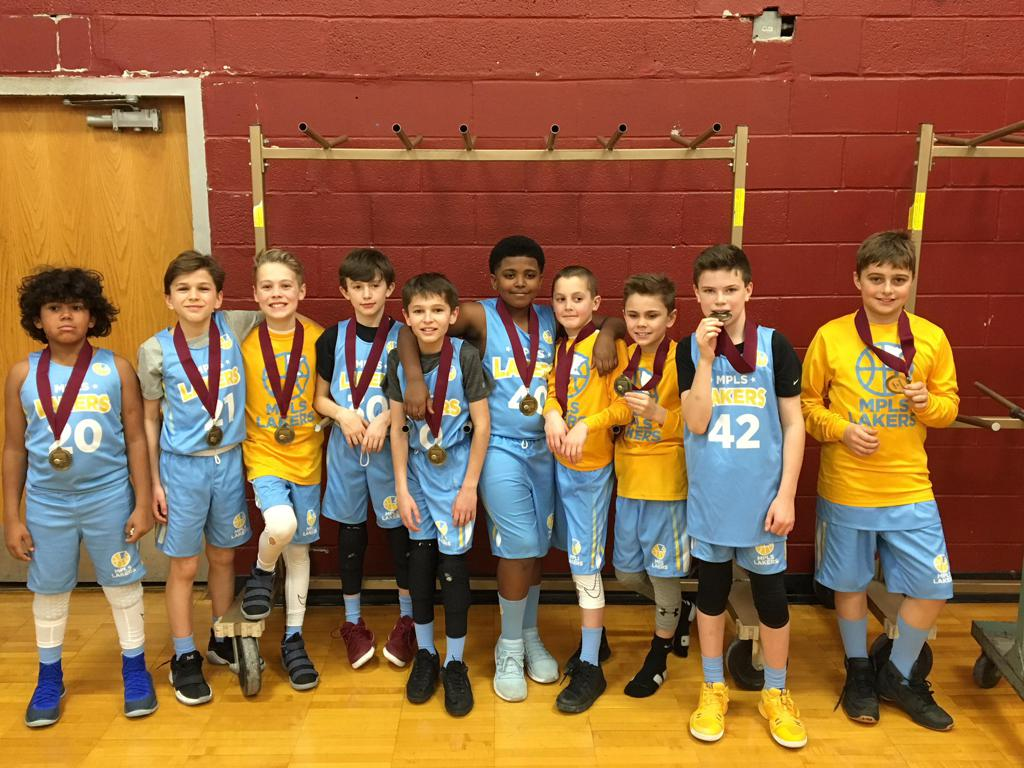 Boys 5th Grade Gold Team Take 2nd Place at Spartan Invitational