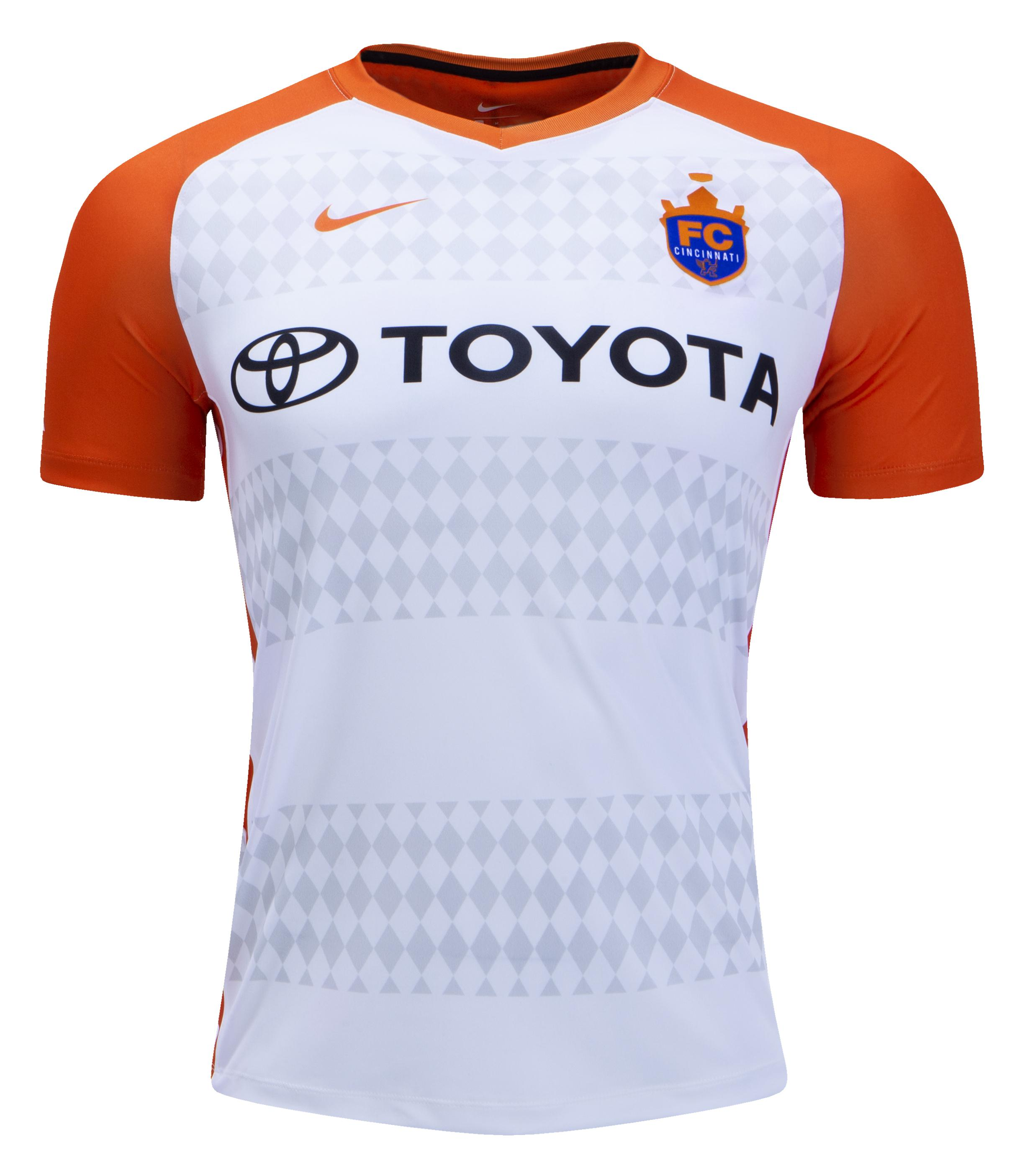 competitive price ba699 ee474 Introducing The 2018 Fc Cincinnati Home And Away Kits | FC ...