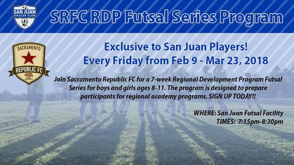 SRFC RDP Futsal Program for SRFC Players U9-U13 27072e2a72f2f