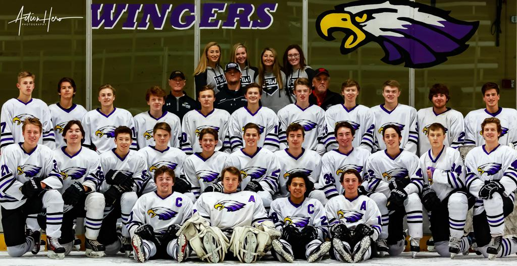 Red Wing Boys Hockey Team 2018