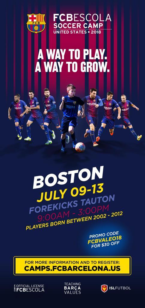 Fc Barcelona Soccer Camp 2018