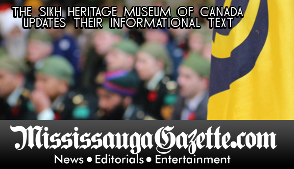 The Sikh Heritage Museum of Canada MIssisauga Mayor Bonnie Crombie and Mississauga News and Newspaper