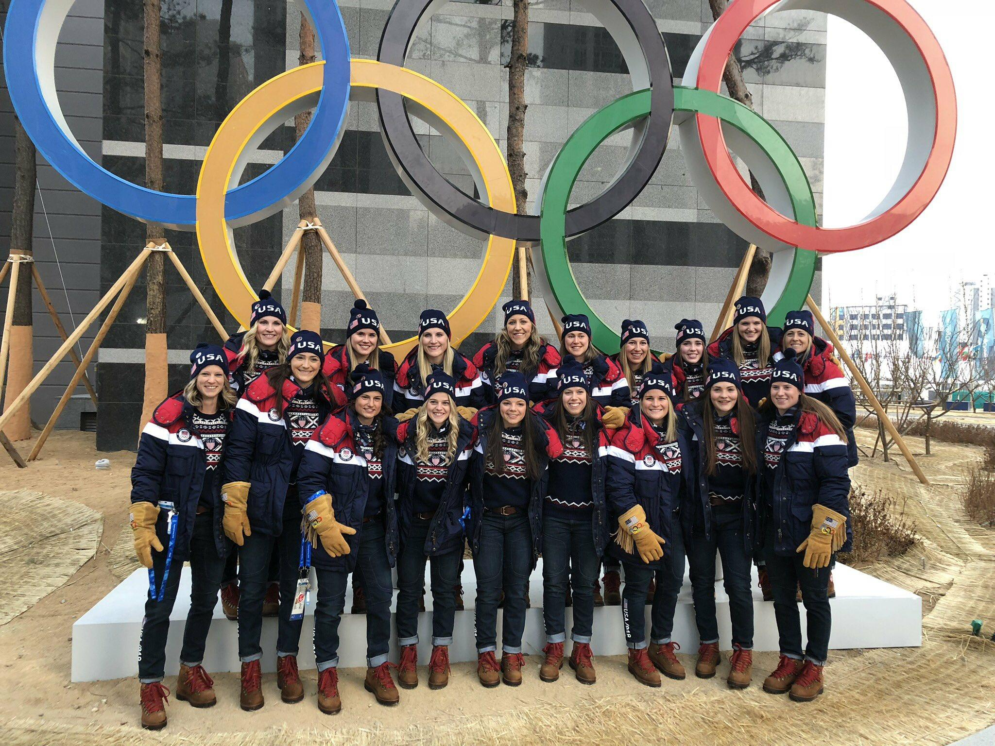 28fa7d07b 2018 - XXIII OLYMPIC WINTER GAMES Women