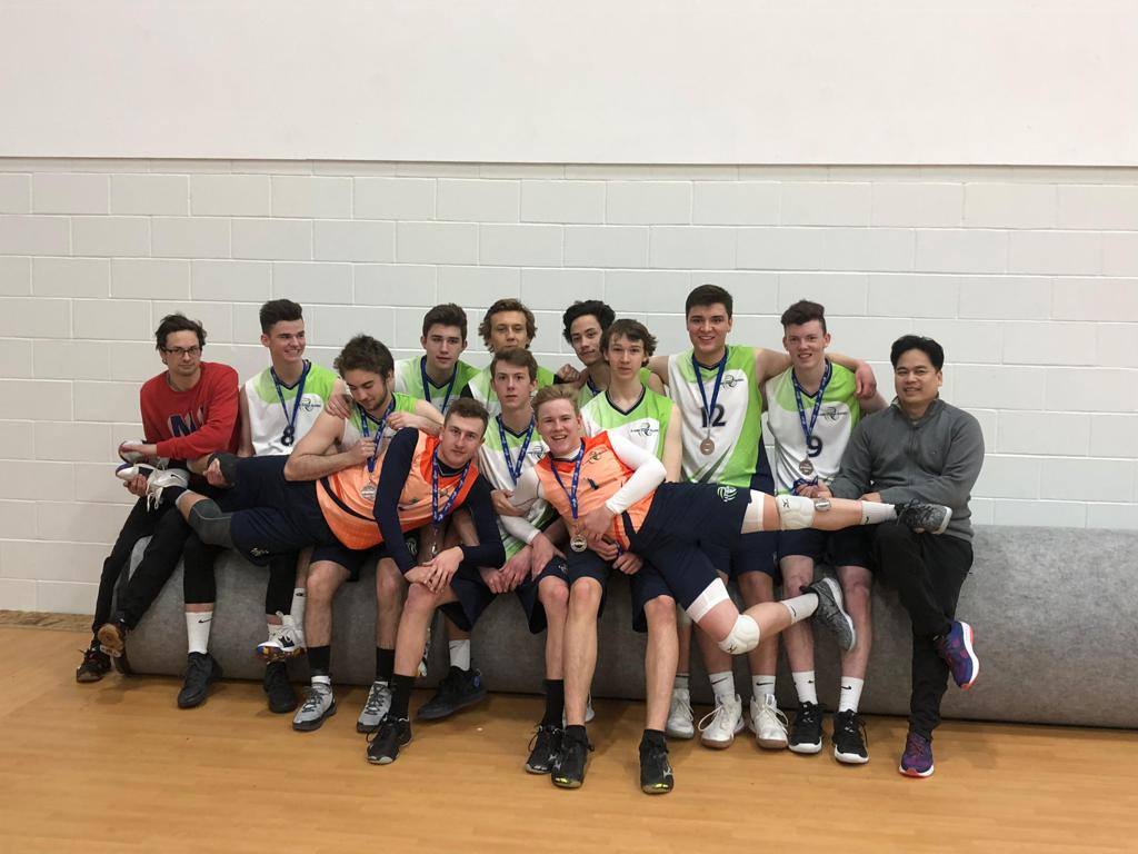 U18 Men Blue Team - Premier 1 Blue Playoff Silver Medalists - Awesome Work Guys!