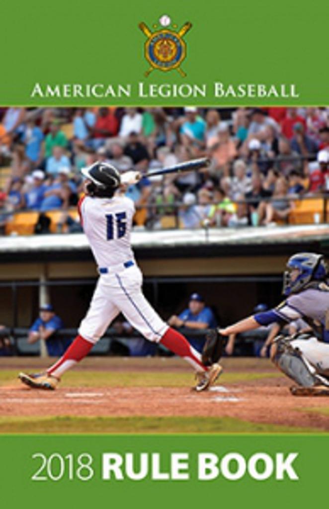 American legion baseball rule book
