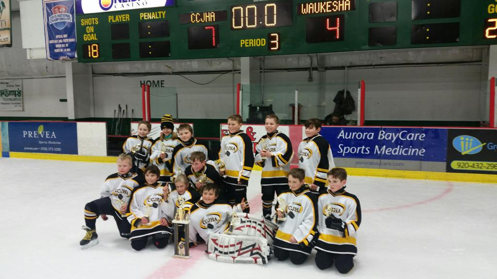 McDonald's 10U house team won the Tundra Tussle in Green Bay, Wisconsin. February 16-18, 2018
