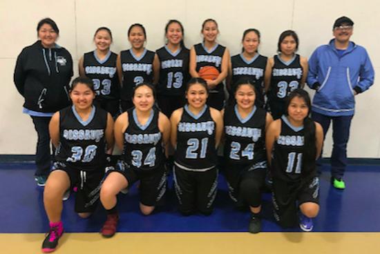 Buckland Girls Basketball Team