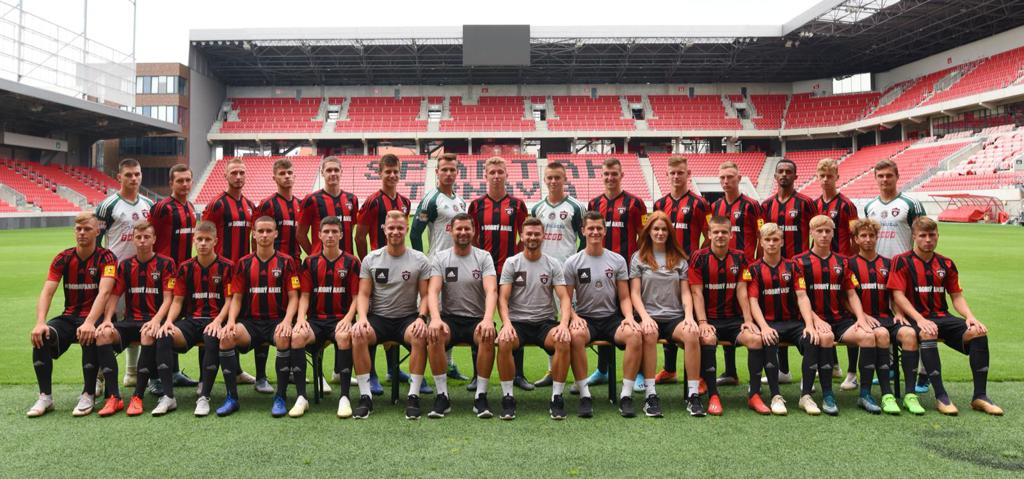 Keenan in European Professional club Spartak Trnava U19 Boys