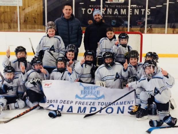 Hockey midget hub cup in boston