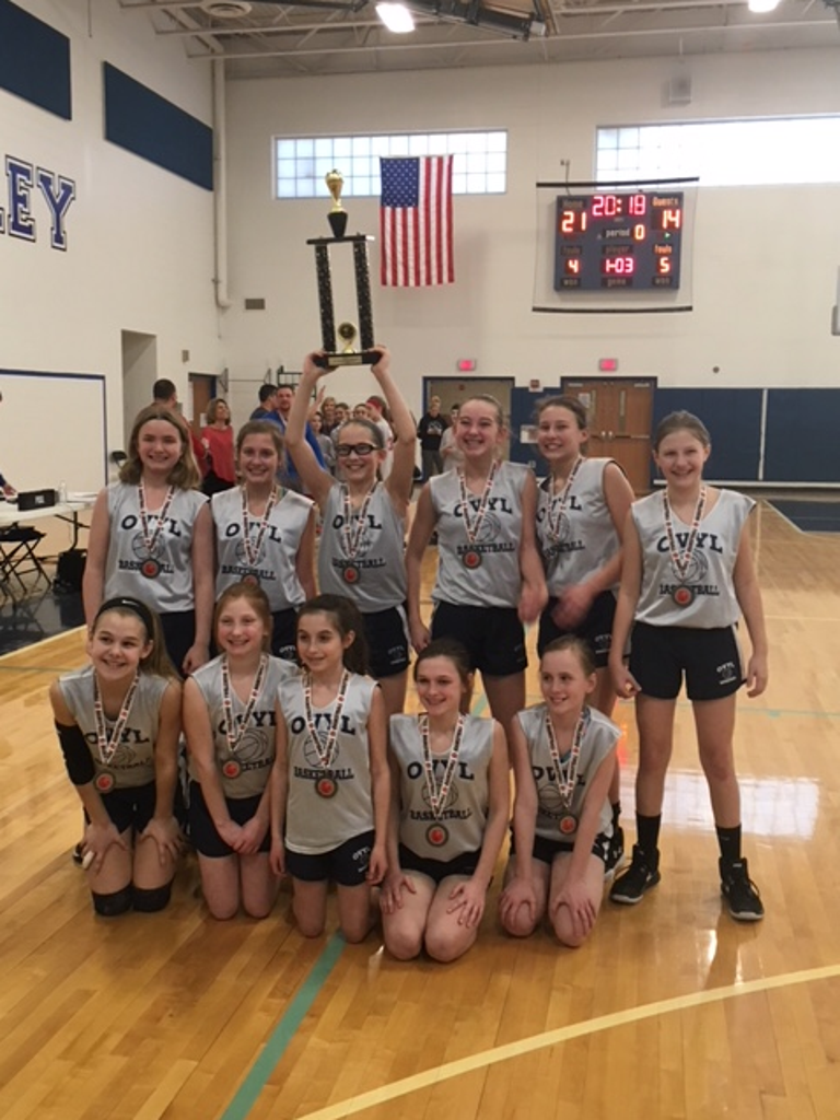 OVYL 6th Grade Girls Basketball Team