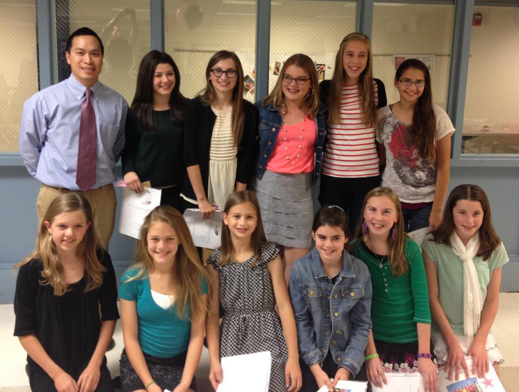 First Beach Middle School Team - 2013