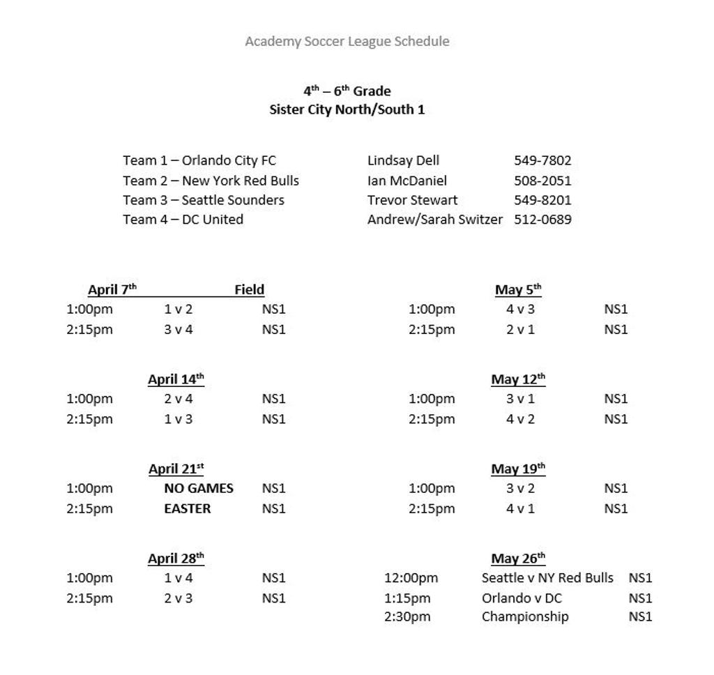 4th - 6th Grade Division