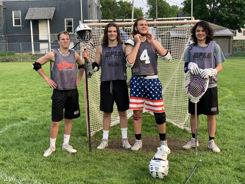 2019 Seniors: Michael Woodhouse, Donovan Ryan, Lucas White, Chaska Spears