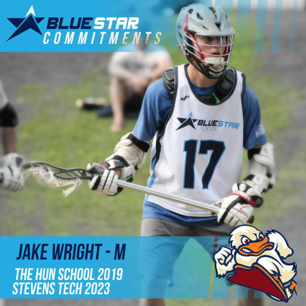 Jake Wright Blue Star Lacrosse