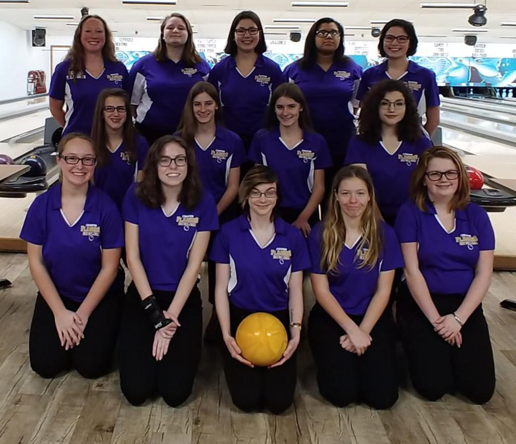 Champion Girls Bowling Team 2018/2019 Season