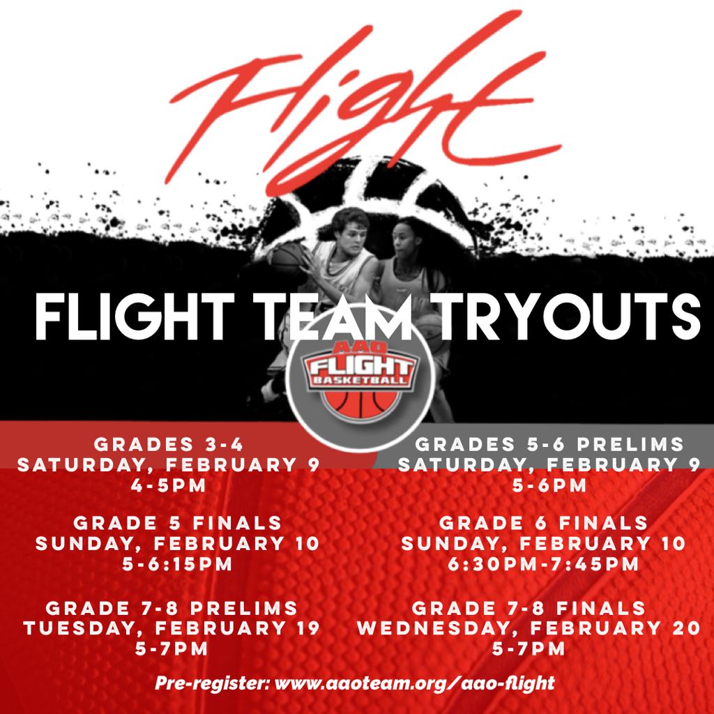 flight tryouts!