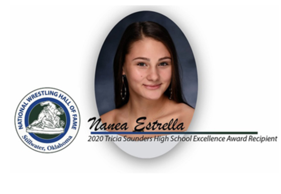 Nanea Estrella named National Tricia Saunders High School Excellence Award winner