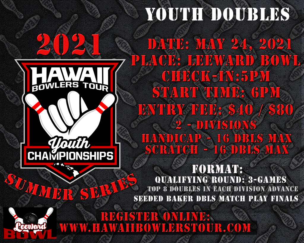2021 HBT Summer Series Youth DOUBLES Event