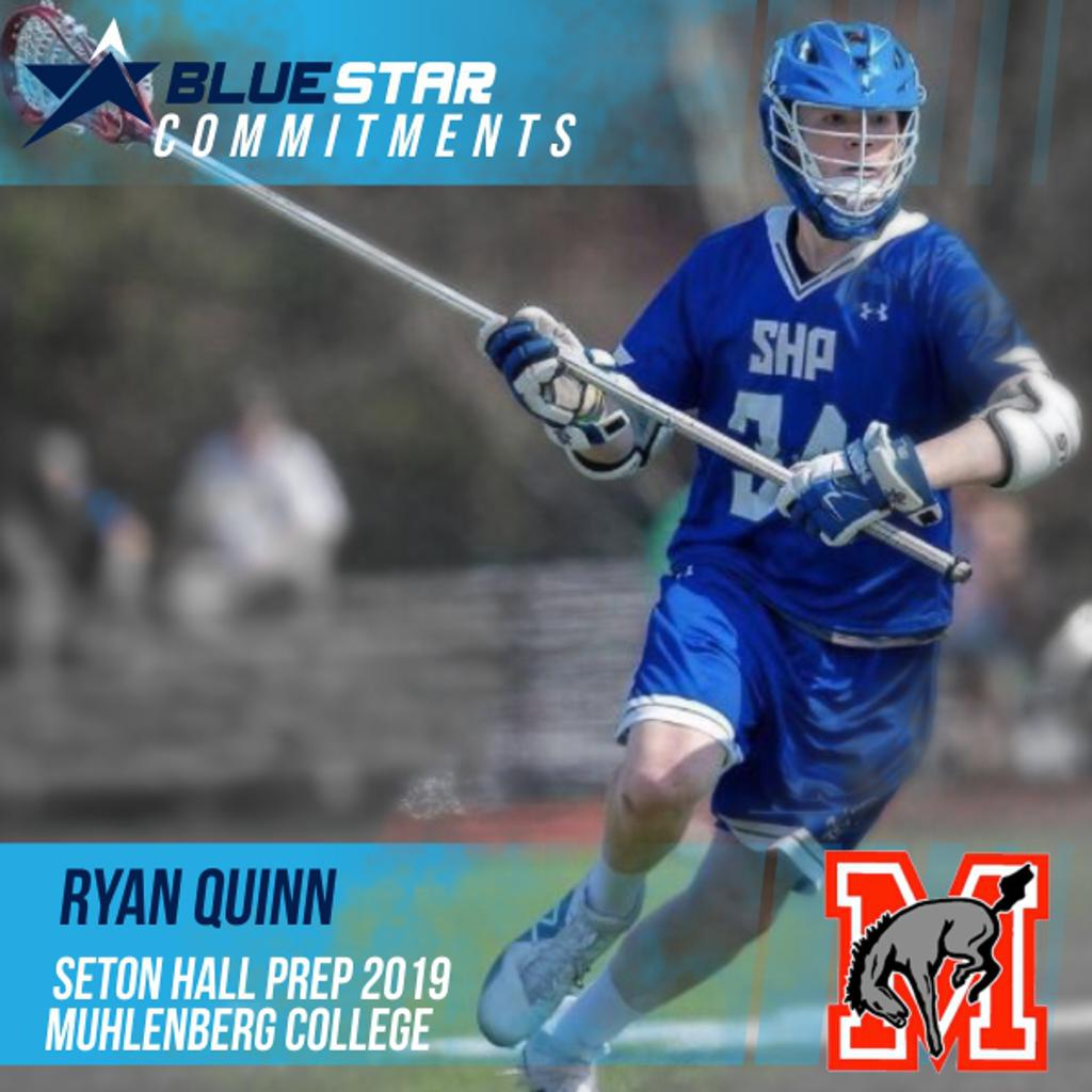 Ryan Quinn Blue Star Lacrosse Muhlenberg