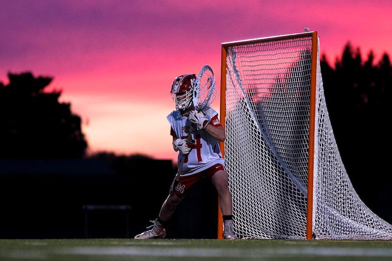 Red skies at night delighted Stillwater in a rout of Chanhassen last year, but the red could also have been a harbinger of a the hard stop awaiting the Ponies in the postseason. Photo by Korey McDermott, SportsEngine