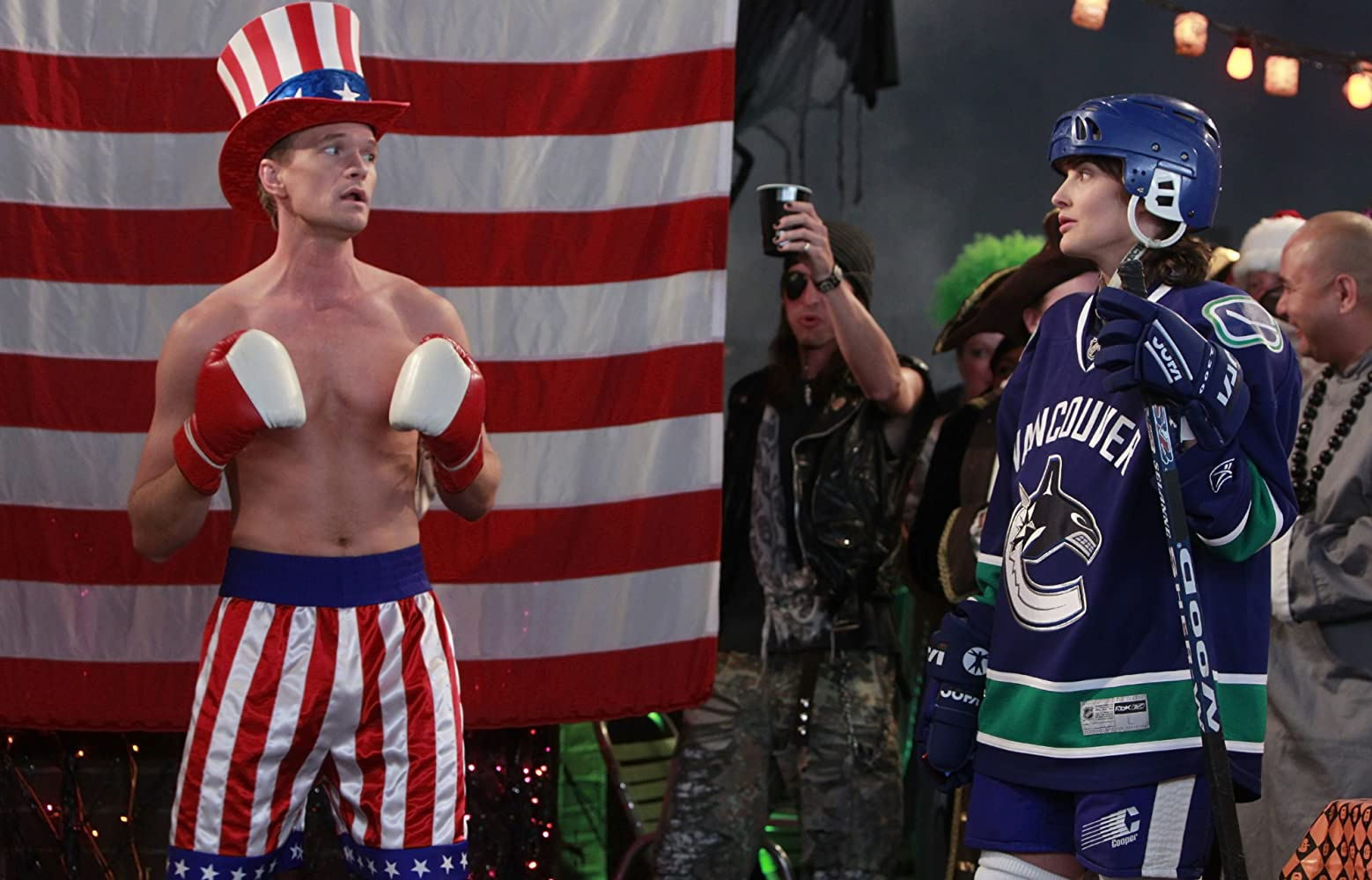"Robin consistently brought the Vancouver Canucks into her arguments regarding Canadian versus American superiority in episodes of ""How I Met Your Mother."" Photo courtesy of CBS"