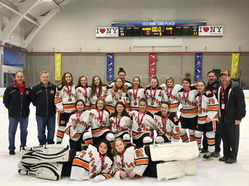 Girls 14u Aa Take Bronze At Lake Placid