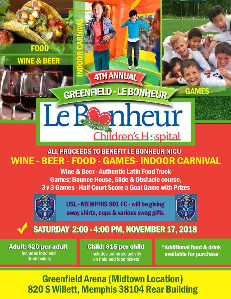 Greenfield & Lebonheur Fundraiser