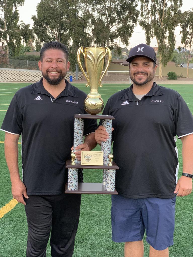 Coach Eli Marin & Assistant Coach Jose Ruelas