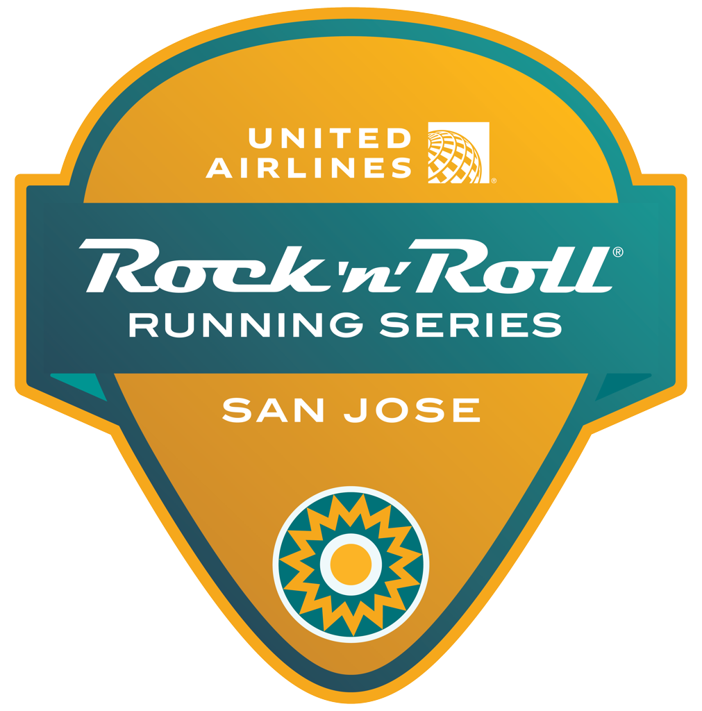 Rock 'n' Roll San Jose Guitar Pick logo