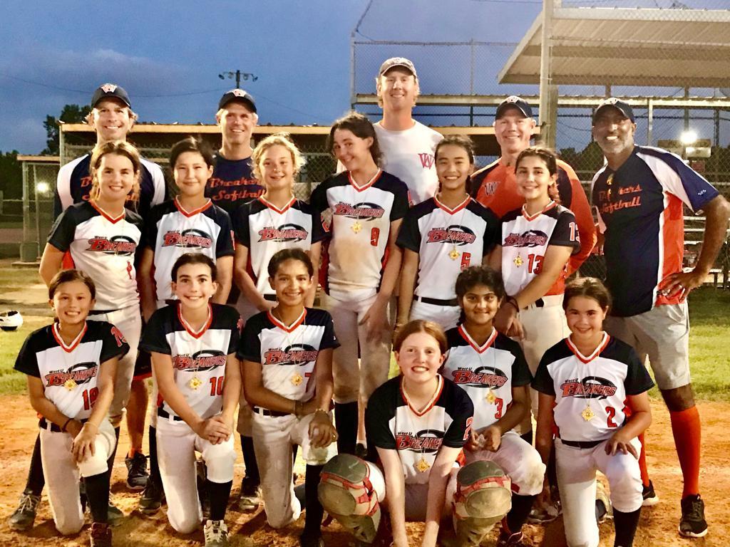 12U Breakers win the Humble Boom All Star Bash Softball Tournament on 6/6/21