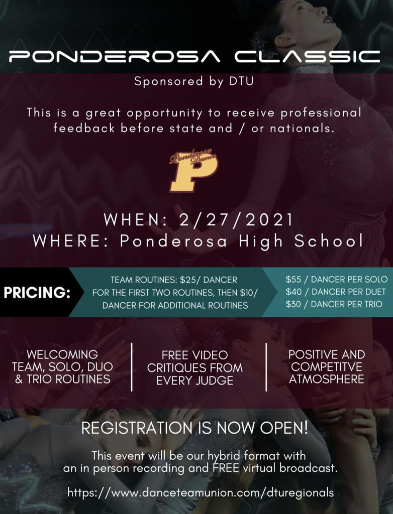 Head to our Ponderosa Classic page for more information and a link to register!