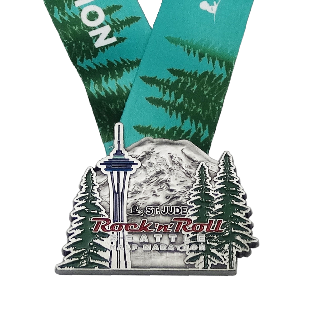 Rock 'n' Roll Seattle Finisher Medals