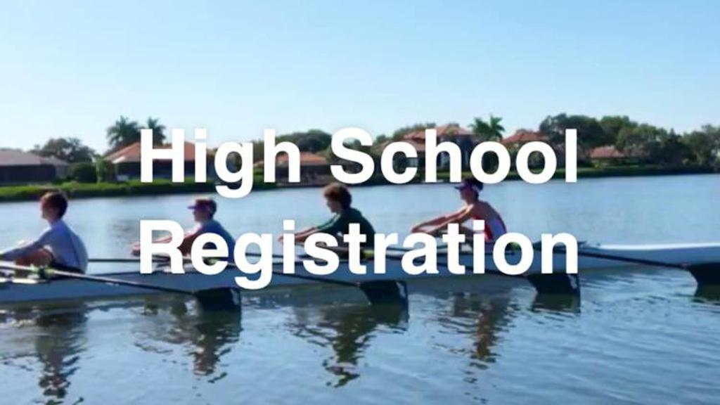 2019 - 2020 HIGH SCHOOL REGISTRATION