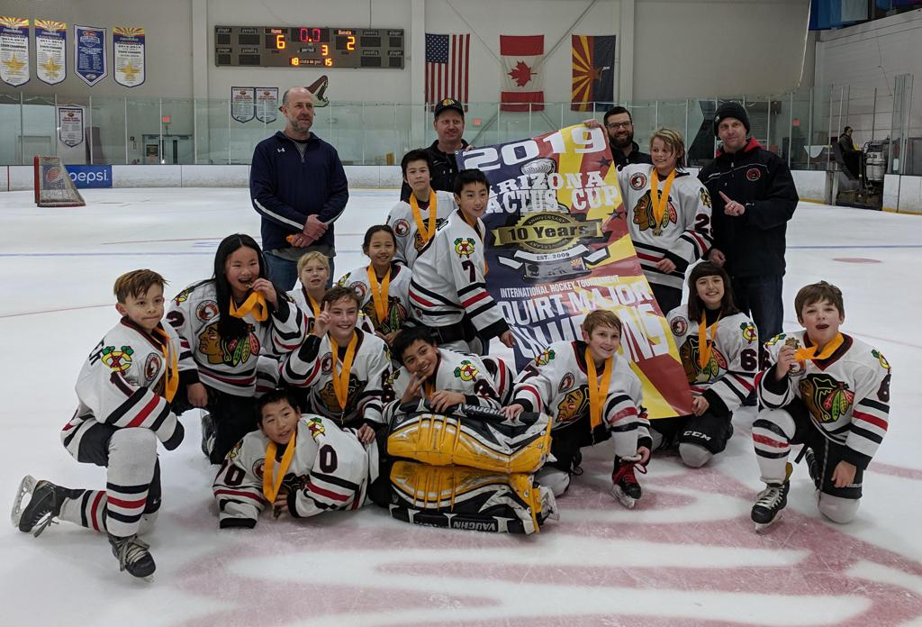 10U A Cactus Cup Champions