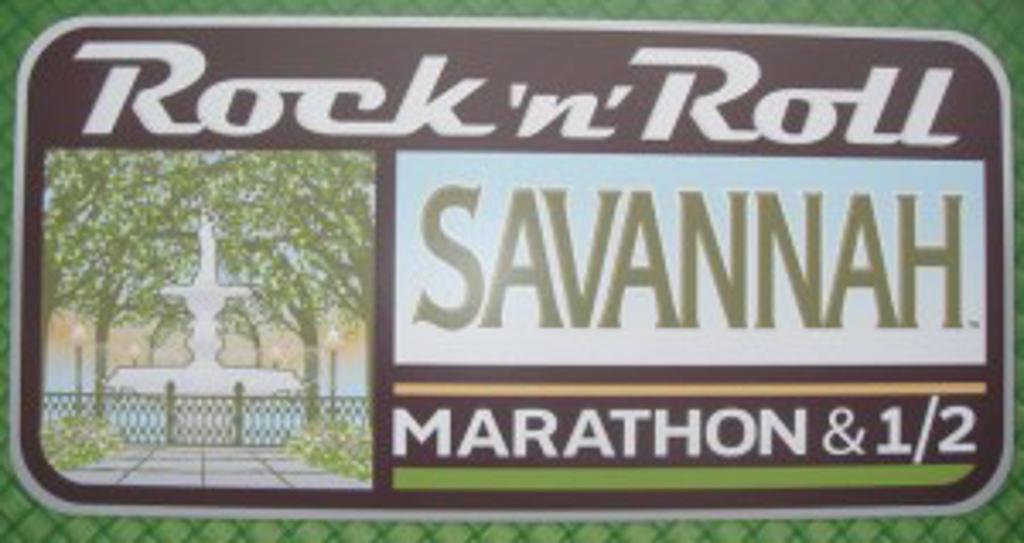 Rock N Roll Savannah license plate