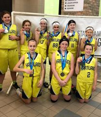 Soave 6th Grade Girls Travel Takes 2nd in Grand Rapids 2/17/19